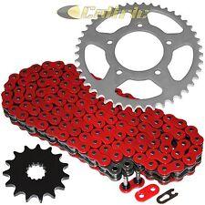 Red O-Ring Drive Chain & Sprocket Kit Fits SUZUKI SV650S 1999-2009