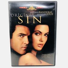 Original Sin (DVD, 2002, R-Rated Theatrical Version) Free Shipping