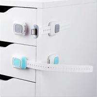 Helpful Safe Fridge Drawer Door Cabinet Cupboard Kids Toddler Safety Locks TR21