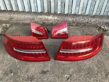 AUDI A6 S6 RS6 C6 Facelift Saloon 09-11 LED Tail Lights Rear Stop Lamps