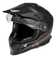 UFO Adventure Off Road Enduro Helmet Akan 2019 Black Medium (57-58cm)
