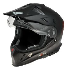 UFO Adventure Off Road Enduro Helmet Akan 2019 Black Medium (57-58cm)