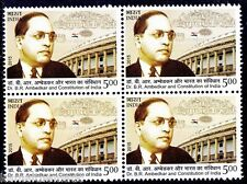 India 2015 MNH Blk, Dr. B. R. Ambedkar, Formed Constitution of India, Flag