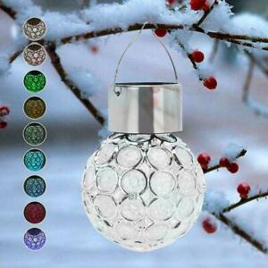 Solar Light LED Laterne Outdoor Wasserdicht Hohl Kleine Lichtsteuer S8U2