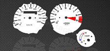 Honda XRV 750 africa twin RD07 Tachoscheiben Tacho  Gauge dial speedo faces Set