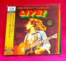Bob Marley Live! SHM MINI LP CD JAPAN UICY-94590