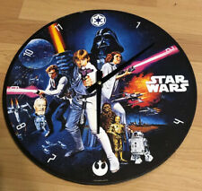Star Wars Wooden Wall Clock Home Decoration Novelty