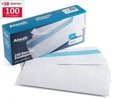 100 #10 Security SELF SEAL Envelopes