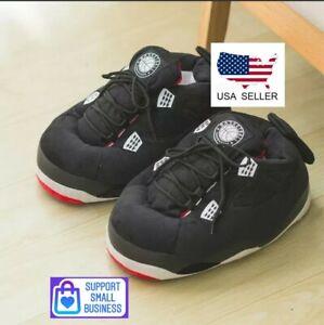 Jorda Retro Air Plush Slippers Yeez Boost  Beluga Fashion Basketball M Size 6-11