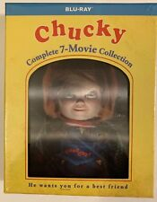Nuevo Chucky Completo 7 Movie Colección Blu-Ray 7 Set de Discos Lenticular Funda