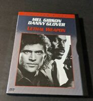 Lethal Weapon (DVD, 2000, Directors Cut, Widescreen) Mel Gibson & Danny Glover.