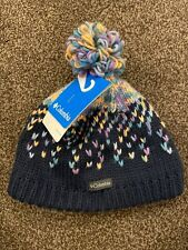 Columbia Siberian Sky Children's Beanie. Size Youth S/M Fleece Lined.