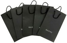 GUCCI Empty Shopping Gift Paper Bag 5P Set Black-38