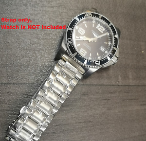 21mm Bracelet strap Stainless Steel Bracelet Watch Strap For LONGINES watches