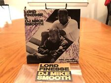 """LORD FINESSE 45 BABY YOU NASTY 7"""" RARE SLICE OF SPICE LIMITED DJ PREMIER LOOK!"""