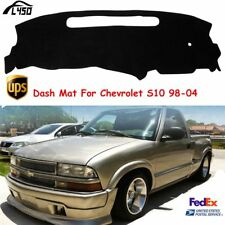 Car Auto Dash Mat Black Dashboard Cover Anti-UV Pad For Chevrolet S10 1998-2004