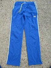 Pantalon ADIDAS rétro vintage sport loisir détente bleu TREFOIL pant M