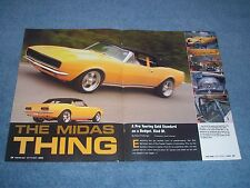 """1967 Camaro RS Convertible Pro-Touring Article """"The Midas Thing"""""""
