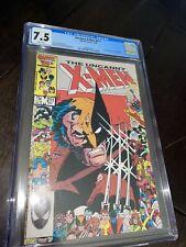 Marvel Comics X-Men 211 CGC 7.5 1st Marauders