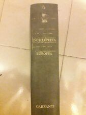 Enciclopedia Europea Garzanti 12 Volumi 1978