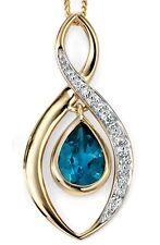 """Topaz 18 - 19.99"""" Beauty Fine Necklaces & Pendants"""