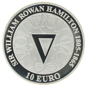 Ireland - Silver 10 Euro Coin - 'Sir William Rowan Hamilton' - 2005 - Proof