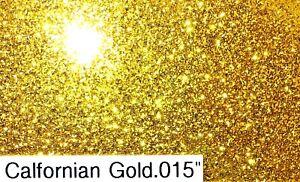 Rossco's Aluminium Old School Hot Rod Flake Californian Gold  Fine Medium Coarse