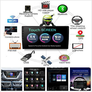 "Car GPS 10.1"" 1080P 1Din Touch Screen Quad-Core Stereo Radio Player for Android"