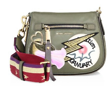 Marc Jacobs Patchwork Saddle Bag Military Green
