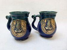 Ceramic Steins/Mugs: 1990's Georgia Renaissance Fair