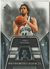 CARTES DE BASKET NBA PAU GASOL 2007/08 SP Game Used