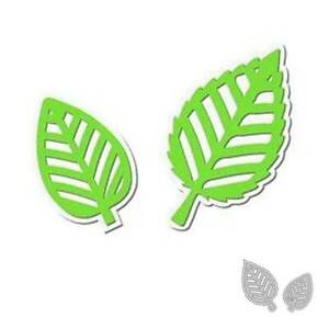 Two Leaves Cutting Dies Stencil DIY Scrapbooking Album Paper Card Embossing