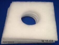5 x Ersatzfilter 160 x 160 mm Loch 42 mm Staubfilter für Helios ELF / ELSN / ELS