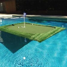 Floating Golf Green 6'x8' for Pools Ponds Lakes Putting Chipping Practice