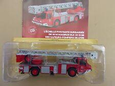 n° 70 IVECO MAGIRUS DLK 23 12 NB échelle Pivotante camion POMPIER LYON 1/43 Neuf