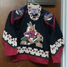 Vintage Nhl Ccm Hockey Jersey Phoenix Coyotes Size Youth Boy Small / Medium