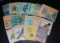 Canada lot of 18 1940s issues of Philatopic Monthly - Empire Stamp Co. Toronto