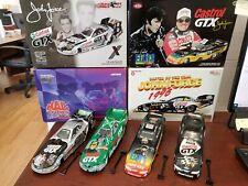 Lot of 4 John Force Elvis/Castrol GTX 1:24 NHRA Funny Cars MIB FORCEPACK