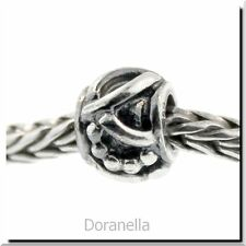 Authentic Trollbeads Sterling Silver 11222 Art Deco :0 RETIRED