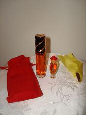 Vintage Rochas Paris Tocade Eau De Toilette 15ml .5fl oz Spray mini Perfume Set
