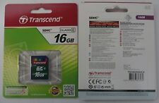 New Genuine Transcend SD SDHC 16GB Class 4 HC Memory Card TS16GSDHC4