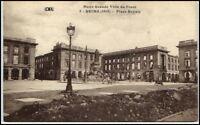 REIMS 1. WK ~ 1914/18 CPA Place Royale Kriegsschäden AK Carte Postale CPA