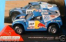 VW TOUAREG TDI LISBOA DAKAR 2006 SAINZ SCHULZ 1/43 IXO