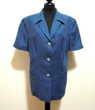 LUISA SPAGNOLI Giacca Donna Lino Flax Woman Jacket Sz.L - 46
