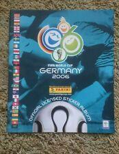 Álbum World Cup Germany 2006 Panini wm WC vacío nuevo Alemania 06 futbol publicidad