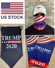 TRUMP 2020 USA Thin Blue Line Flag Tube Bandanas Headwear  Multi Scarf Face Mask