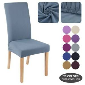 Universal Stretch Elastic Dining Chair Cover Seat Slipcovers Party Room Decor