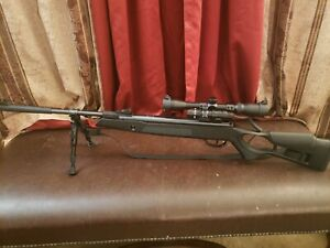 Hatsan Edge spring Combo .25 Caliber Air Rifle with a ton of accessories!! New!!