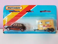 Matchbox 1-75 Twin Pack TP 114, MB7 VW Golf And Horsebox, Rabbit