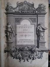 Bernard Picart Tafereel of beschryving 1733 con 60 grandi acqueforti raro
